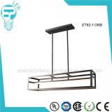 Stahl-LED-hängende helle Decken-Lampe