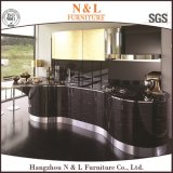 Hoge het Ontwerp van de luxe polijst de Houten Keukenkast van het Meubilair van het Huis van het Vernisje