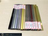Testo fisso di alluminio delle mattonelle del raggio nei colori anodizzati