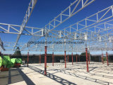 Telhado 531 dos pavilhões da construção de aço