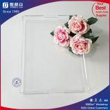Plateaux acryliques de empilement clairs dans la qualité