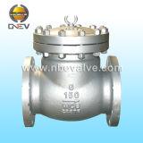 El acero de molde del API ensanchó la válvula de cheque de oscilación (H44H-2500LB)