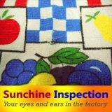 De Inspectie van de Kwaliteitsbeheersing Van de Reeksen van de Textiel/van het Beddegoed van het huis