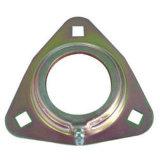 Metallo che timbra triangolo con lo zinco di colore