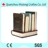 Покрашенное рукой поли украшение стола держателя пер типа книги смолаы
