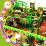 Kind-Innenspielplatz-weiche Labyrinth-Trampoline-Spiel-Gymnastik Dodgeball