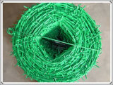 中国Anpingの金網PVC有刺鉄線/防御フェンスの網かみそりワイヤー
