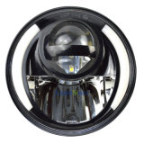"Farol LED de 7 ""para Jeep Wrangler Jk 1997-2016 Farol com farol de olho e luz de sinal de ângulo e DRL de Halo"