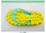 Bascules électroniques jaunes de poussoir de fille d'EVA de qualité