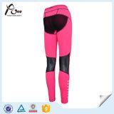 スパンデックスの適性の摩耗の女性の昇華多彩なヨガのズボン