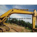 Máquina escavadora usada da esteira rolante de KOMATSU PC200-6, máquina escavadora PC200-6 usada