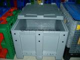 1200X1000X760mm 100% de HDPE virgen granular sólida de plástico caja de transporte