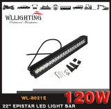 """20 """" 20 LEIDENE van de Rij van de Duim 120W Dubbele Lichte Staaf voor Vrachtwagen ATV"""