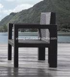 Софа мебели сада более дешевого количества нагрузки складчатости Stackable большого напольная установила (YT216)