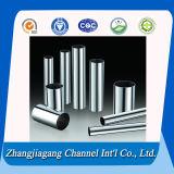 Tubo / tubo de acero inoxidable brillante acabados de alta calidad
