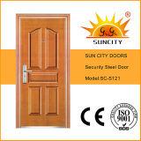 Suncity forjado de seguridad de acero inoxidable de la puerta de entrada (SC-S121)