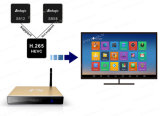 가득 차있는 HD 의 1080년 텔레비젼 다운로드를 가진 100% 알루미늄 F8 인조 인간 Google WiFi 지능적인 텔레비젼 상자 Apk HDTV