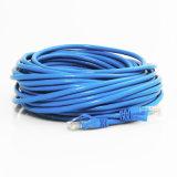 Cavo di rame incagliato Cat5e del cavo di zona di Ethernet 24AWG RJ45 di UTP