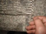 Нержавеющая сталь 304 пояса сети штанги