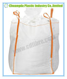 Grand sac résistant de conteneur tissé par pp de FIBC avec le fond plat