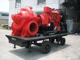 Pompa spaccata di caso, pompa centrifuga orizzontale, pompa ad acqua, pompa ad acqua dell'autopompa antincendio
