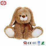 O CE macio enchido do luxuoso de Brown do coelho presente macio caçoa o brinquedo