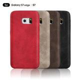 Край галактики S7 Samsung аргументы за ретро мягкого кожаный мобильного телефона защитный