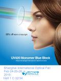 Lentes ópticas Estupendo-Hidrofóbicas azules 1.56 del bloque 72m m UV420 ASP del monómero