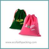 昇進袋を広告するギフト袋のビロードを広告するカスタマイズされたビロード
