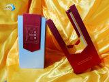 Caixa de papel do vinho duro com projeto especial