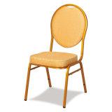 فولاذ ظهر مستديرة يكدّس مأدبة كرسي تثبيت