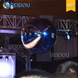 المهرجان فعاليات المرحلة الزخرفية الذهب الأزرق مرآة كرات البسيطة ديسكو نفخ مرآة الكرة