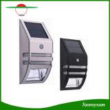 Luz brillante impermeable sin hilos al aire libre de la seguridad de la lámpara de pared de la luz del sensor de movimiento del acero inoxidable de los productos de la iluminación de la energía solar
