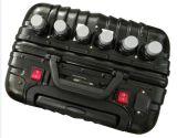 type caché par bagage brouilleur portatif intrinsèque de signal de batterie de capacité de batterie d'écran LCD de 6CH 180W/antenne rf