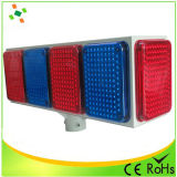 Big Solar LED Flash luz de advertência / Traffic Light