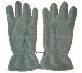 Перчатки ватки зимы теплые однослойные приполюсные с вышивкой