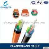 HDPE Tyle redondo Microduct acorazado enterrado directo de la alta calidad para el precio del cable óptico de la fibra de Blowning del aire por el contador