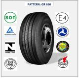 Tous les pneus radiaux en acier de camion et de bus avec le certificat 385/55r22.5 (GR666) de CEE