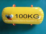 saco de água do teste de carga da prova do barco salva-vidas do peso 100kg