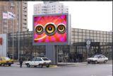 Exhibición de pantalla al aire libre de la cartelera del LED