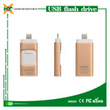 Impulsión del flash del USB para el iPhone 2GB a USB OTG de 128GB Pendrive