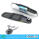 4.3 pollici DVR con Costruire-in affissione a cristalli liquidi Monitor, 170 Degree, Car Rearview Mirror Camera DVR Xy-9045