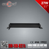 11 duim 27W Single Row Hot Sale Item LED Light Bar voor Outdoor (sm-11x-027A)
