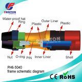 Rg11 connecteur de la compression rf pour le câble coaxial de liaison (pH6-5040)