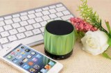 Altifalante de alumínio Áudio FM Caixa de som Wireless Mini Bluetooth Speaker
