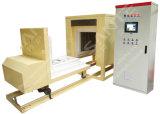 Fornace di trattamento termico con il carrello