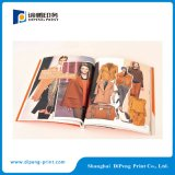 Catálogos a todo color de la impresión en línea