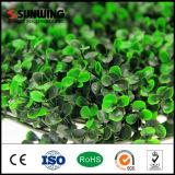 Garten-Dekoration-Grün-geschützte künstliche Blatt-Zaun-UVpanels