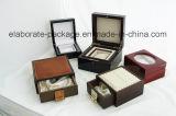 Caja de embalaje de Jewellry calidad de madera noble delicada del rectángulo de la mejor