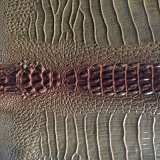 Кожа PVC новой картины змейки искусственная для мешка, ботинок